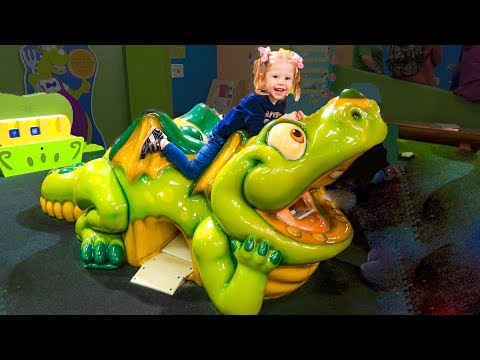 Entertainment at the children's museum Funny playtime with Stacy Indoor Playground for kids