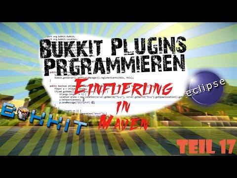 Bukkit Plugins Programmieren 17 - Erste Einführung in Maven [German / HD+] | BukkitFabo
