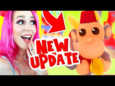 HOW TO GET ALL THE NEW MONKEY PETS IN ADOPT ME! Roblox Adopt Me Fairgrounds Update