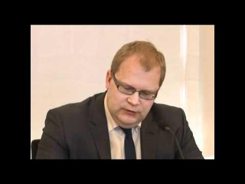 Välisminister Urmas Paet annab ülevaate uutest arengutest seoses Liibanonis toimunud inimrööviga