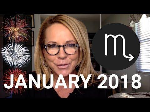 Scorpio January 2018 General Tarot Reading CLOSE THE DOOR + NEW START