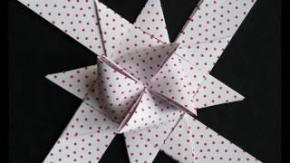 Flettede julestjerner - Froebel Stars