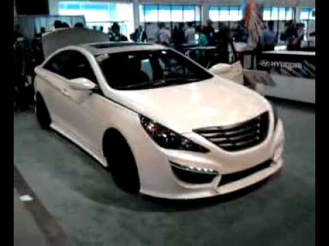 SEMA Shoutout Elyriahyundais Look At A Custom Sonata