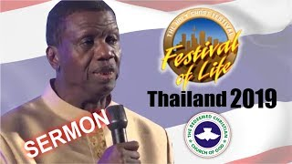 Pastor EA Adeboye Sermon  RCCG Thailand FESTIVAL OF LIFE 2019