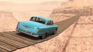 CAN YOU CROSS THIS BRIDGE? (BeamNG.Drive)