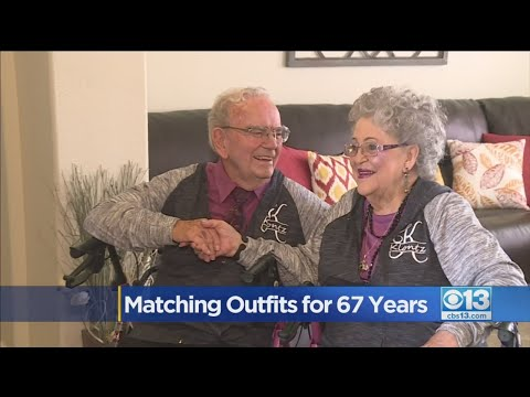 Skip Kelly - Every Day for 67 Years This Couple Has Worn Matching Outfits !