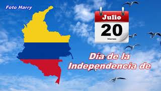 20 de Julio día de la Independencia de Colombia