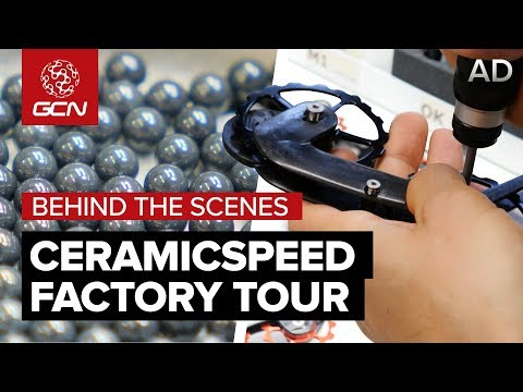 Behind The Scenes At CeramicSpeed | Bearings, Jockey Wheels & Super Fast Chains