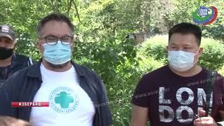 В Избербаш прибыла бригада врачей из Москвы