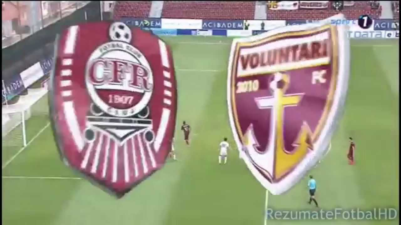 Rezumat: CFR Cluj - FC Voluntari 5 - 0 (1-0) - YouTube