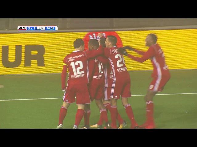 Samenvatting: Almere City FC - FC Eindhoven (5-1)