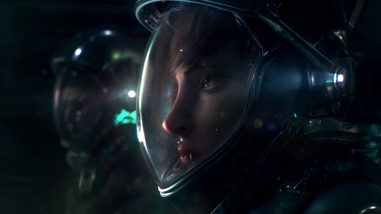 Wallpaper Engine - Space Girl - YouTube