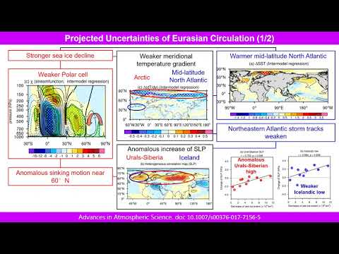 UNCERTAINTIES OF SEA-ICE DECLINE AND EURASIAN CLIMATE