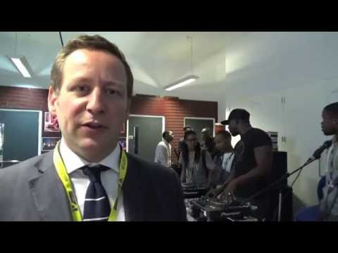 Meeting the stars of the future at Newham Music Hub