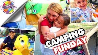 MEGA CAMPINGSPAß FUNDAY - FREIZEITPARK und Markttag - Family Fun
