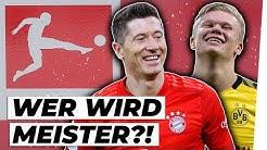 Bundesliga-Meister: FC Bayern, BVB oder RB Leipzig?! | Prognose