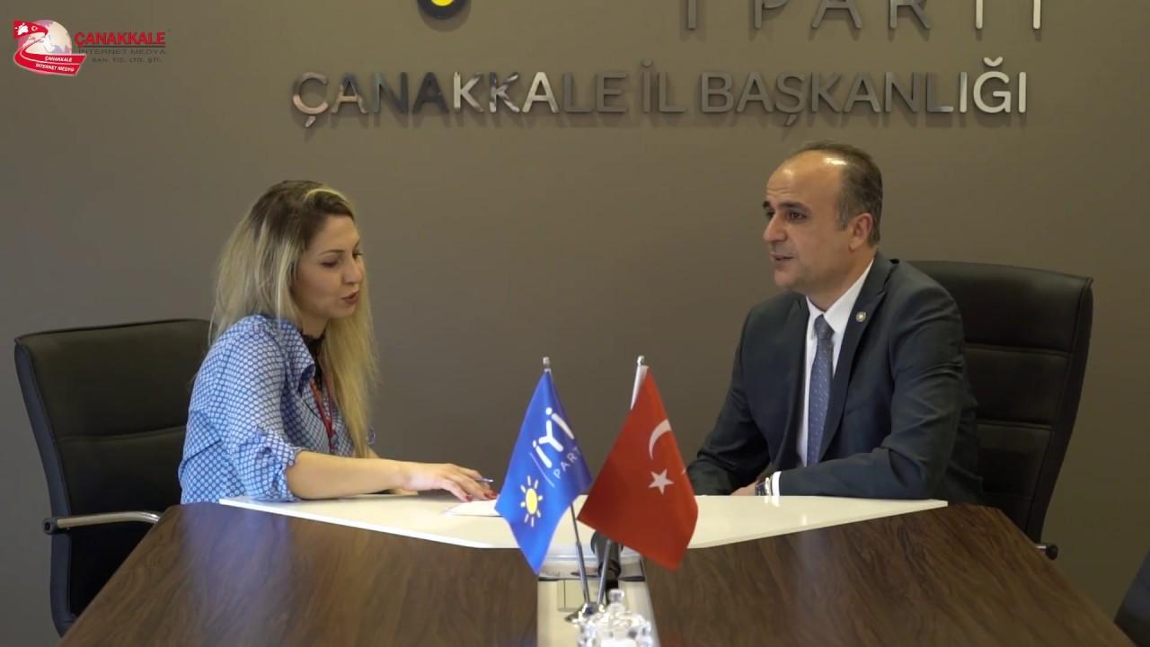 İyi Parti Çanakkale Milletvekili Aday Adayı İrfan Dehmen İle Röportaj