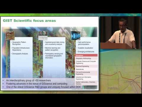 CyberGIS'14 Session: Scientific Frontiers and Applications