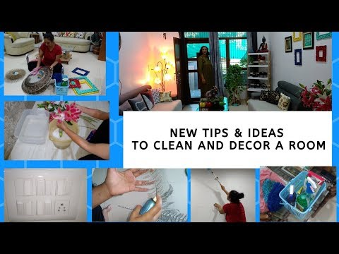 New Tips To Clean and Decorate  a Room || Room Makeover || DIY Tips for Cleaning