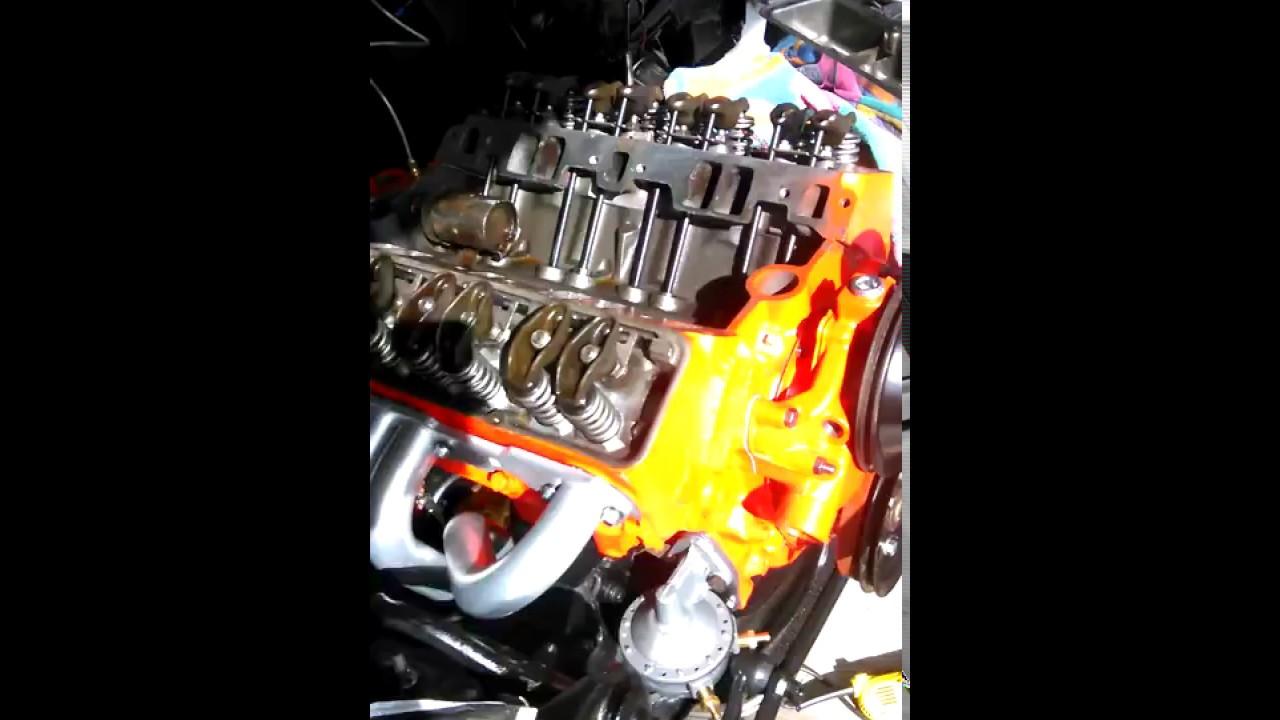 hot wiring starter 327 chevy [ 1280 x 720 Pixel ]