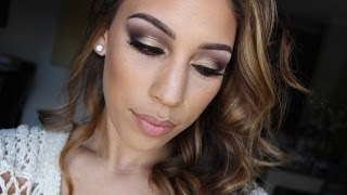Holiday Glam Smokey Eye Makeup Tutorial Thumbnail