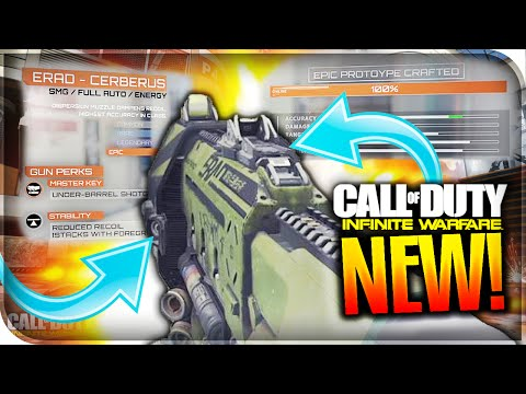 *NEW* CRAFTING WEAPON *VARIANTS* IN INFINITE WARFARE! - HOW TO CRAFT WEAPONS IN IW MULTIPLAYER! - IW