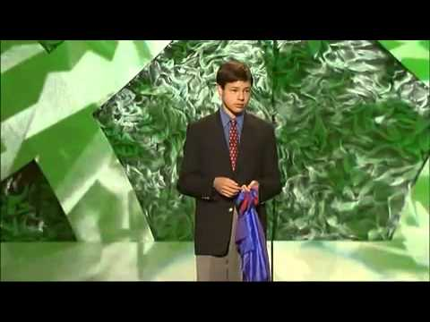 the best dry humor kid magician