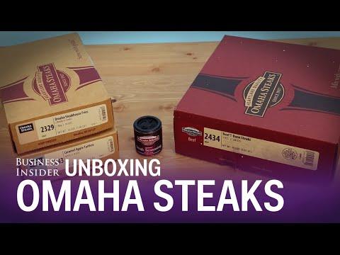 Unboxing: Omaha Steaks