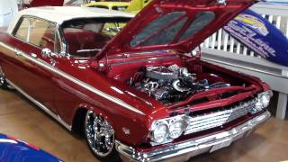 1962 Chevrolet Impala Custom - Lowered - Air Suspension - Nicely Detailed