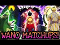 WANO MATCHUPS! Discussion | One Piece Tagalog Analysis
