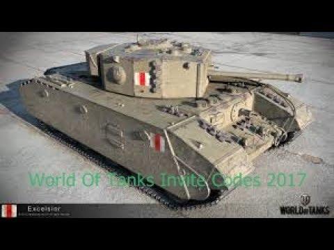 World Of Tanks Invite Codes EU SERVER 2017