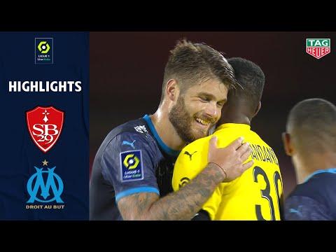 STADE BRESTOIS 29 - OLYMPIQUE DE MARSEILLE (2 - 3) - Highlights - (BREST - OM) / 2020/2021