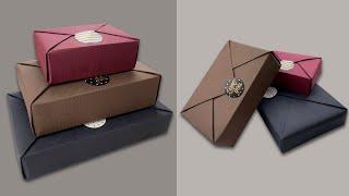 基础款礼物包装技巧—日式风吕敷造型