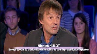 Nicolas Hulot - On n'est pas couché 20 décembre 2014 #ONPC