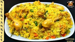 Delicious Nigerian Fried Rice   Unbelievable Taste And Very Healthy Recipe . (Must Watch)