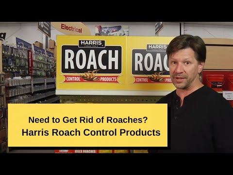 The PF Harris Line of Roach Products