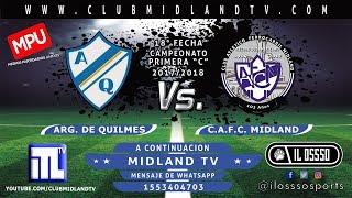 Argentino de Quilmes vs CA Midland full match