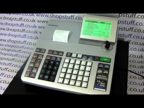 How To Use The Casio SE-S400 Cash Register