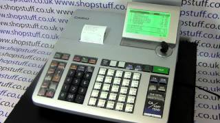 Casio se-s400 instructional video demonstrating how to process a sale using the department buttons. for more information visit: https://www.shopstuff.co.uk/a...
