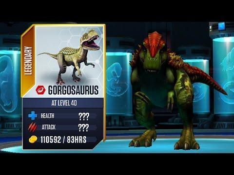 Gorgosaurus Max Level - Jurassic World The Game