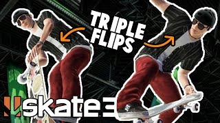 Skate 3: Rocket Air, Benihana, and Christ Air Triple Flips