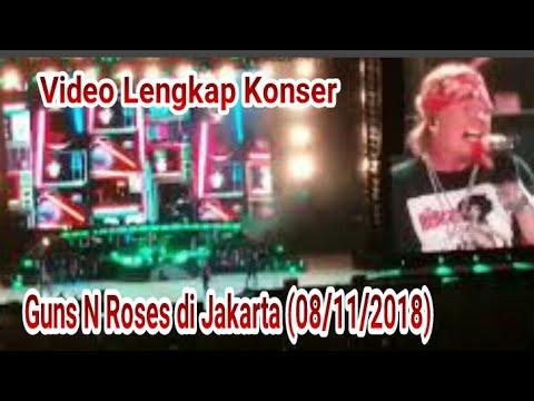 Konser Guns N Roses di Jakarta 08/11/2018 (video Lengkap) Mp3