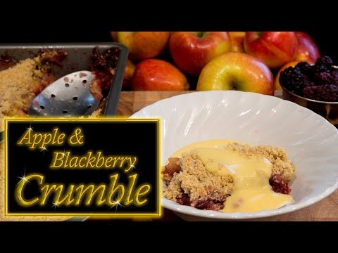 Apple & Blackberry Crumble/ Crisp