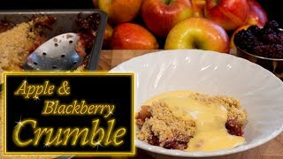 Apple & Blackberry Crumble/ Crisp