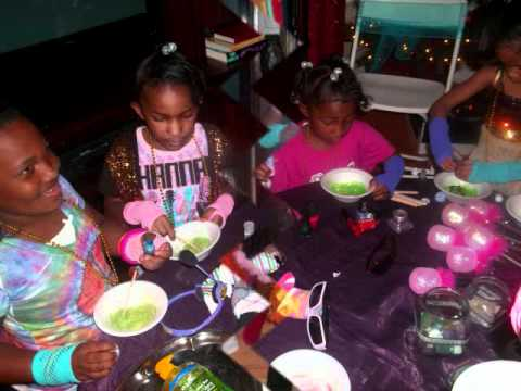 Mobile Atlanta Girls Rock Star Party By: Its All About You Birthdays