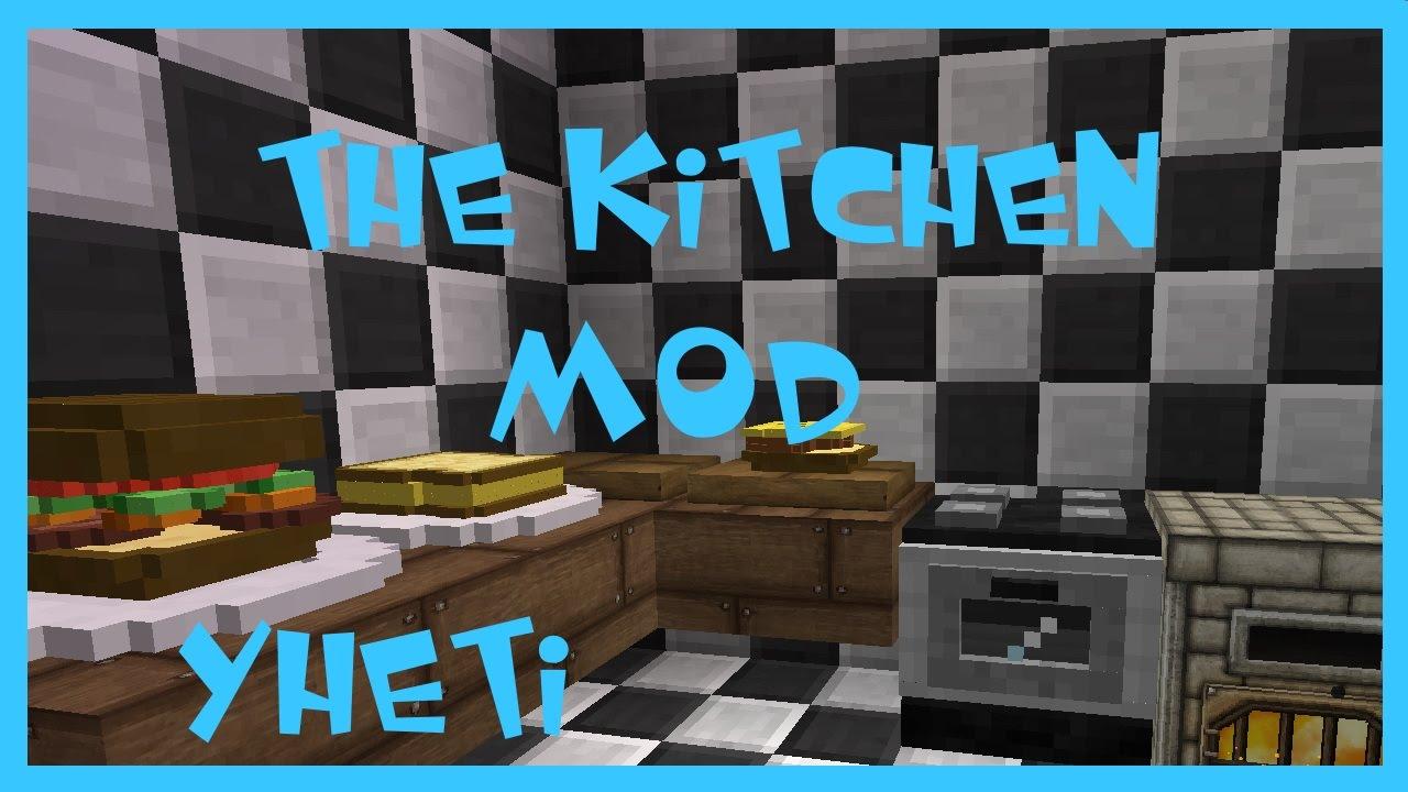 Minecraft Kitchen Mod Modvorstellung Deutsch Yheti