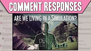 Comment Responses: No Man's Sky: A Simulation Inside a Simulation?