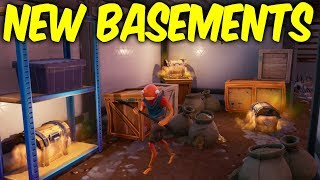 Fortnite secret map changes. NEW BASEMENTS