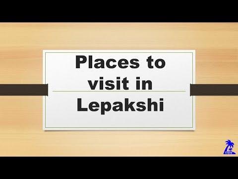 Places to visit in Lepakshi