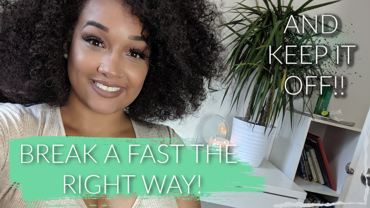 HOW TO BREAK A WATER FAST + DID I GAIN THE WEIGHT BACK?!    WATER FAST  UPDATE!!!
